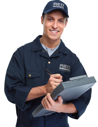 reo mechanical employee